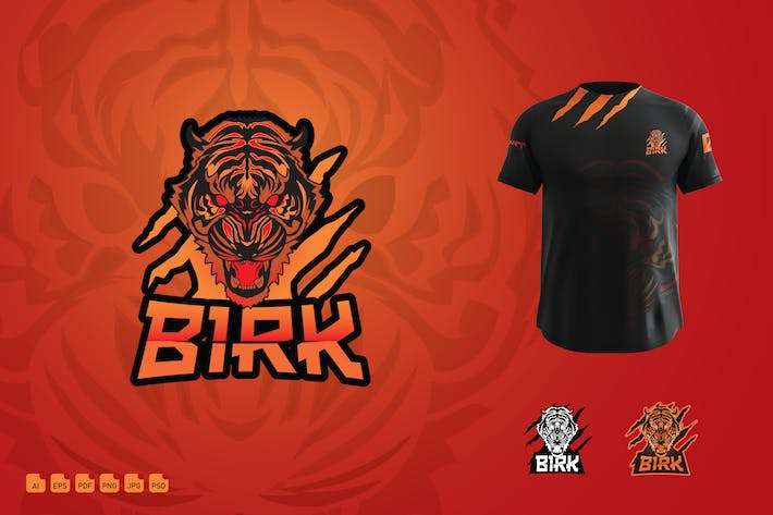 Esport Clan Gaming Logo - Birk