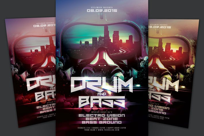 Thumbnail for Drum And Bass Flyer