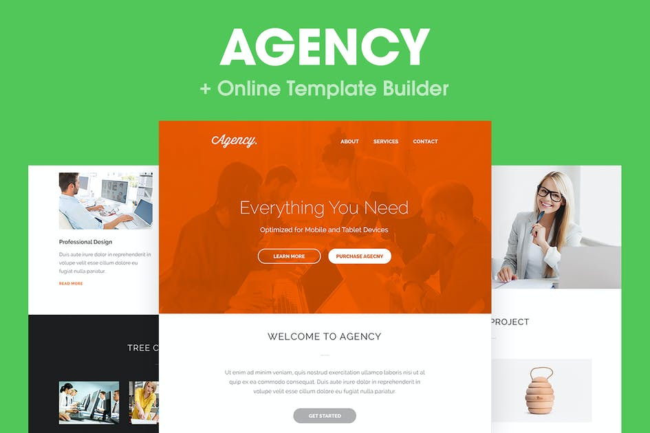 Download Agency - Responsive Email Template by HyperPix
