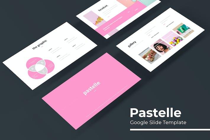 Thumbnail for Pastelle - Plantilla de Presentación de Google