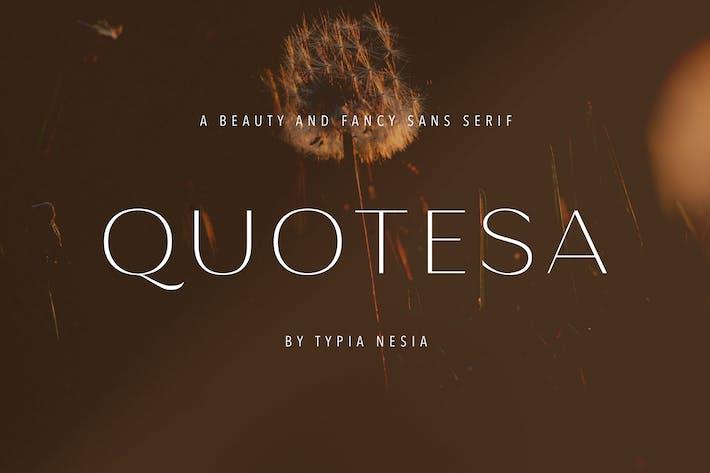Quotesa - Belleza Fantasía y Glamour Sans