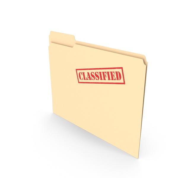 Classified Folder Empty Vertical