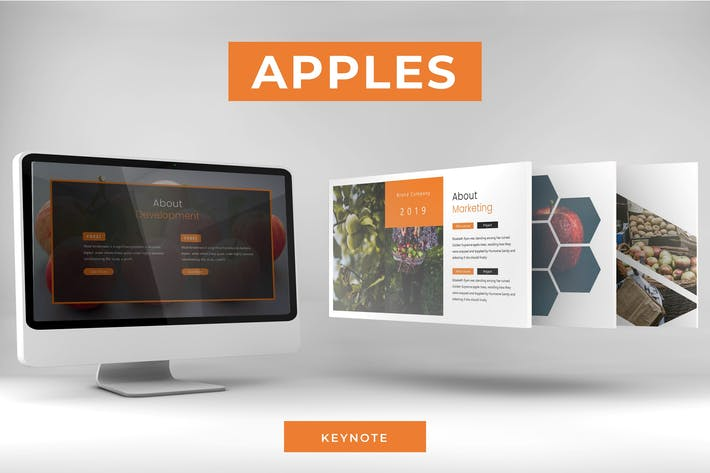 Thumbnail for Apples - Keynote Template