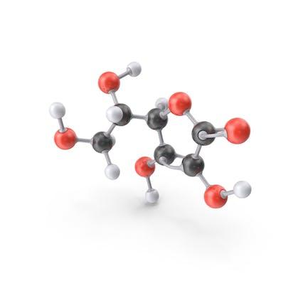 Vitamin C (L Ascorbic Acid) Molecule