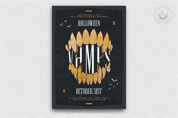 Thumbnail for Halloween Flyer Template V28