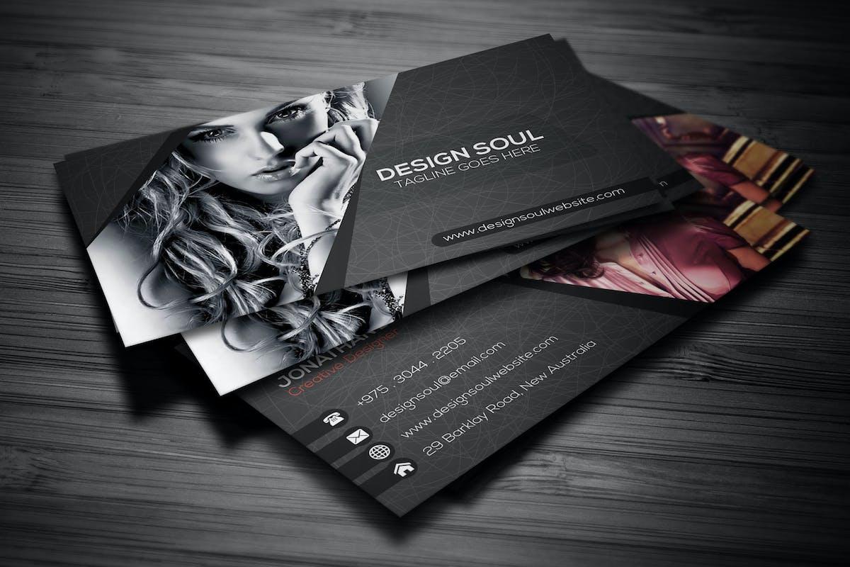 business card photography photographer elements templates envato bashooka item nature