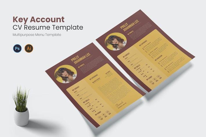 Key Account Cv Resume