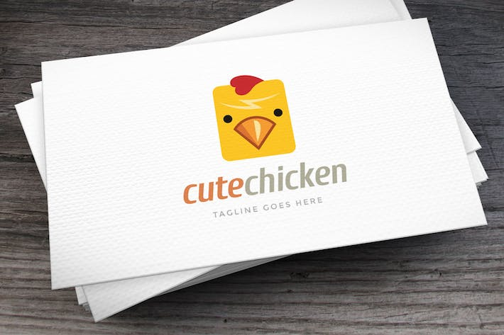 Thumbnail for Cute Chicken Logo Template