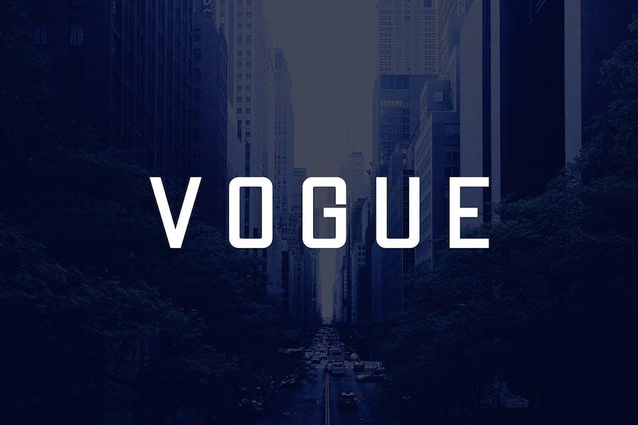 VOGUE - Modern Display / Headline / Logo Typeface