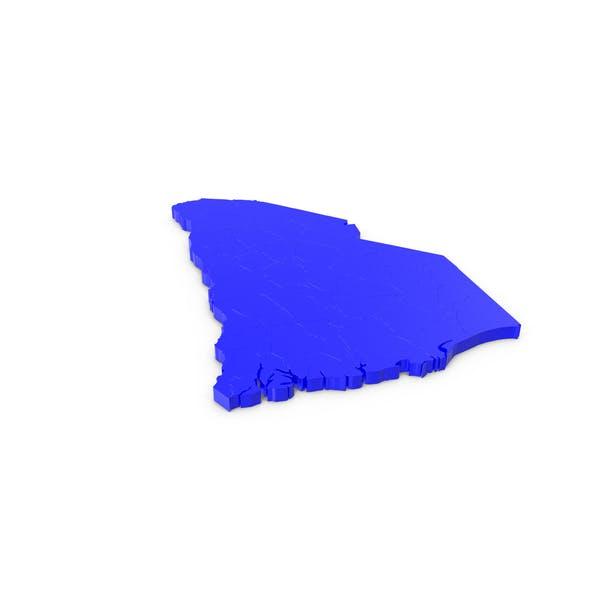 South Carolina Counties Map
