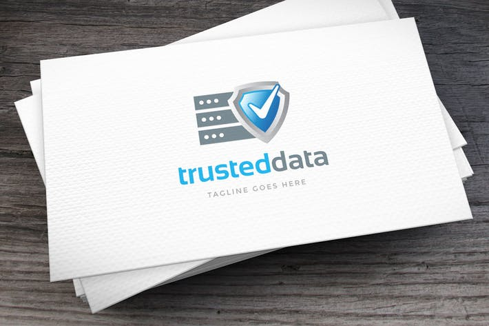 Thumbnail for Trusted Data Logo Template