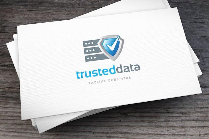 Thumbnail for Шаблон логотипа надежных данных