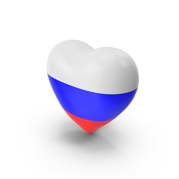 Thumbnail for Russia Flag Heart