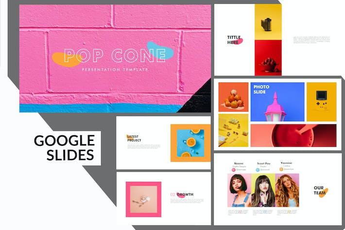 Thumbnail for Pop Cone - Google Slides Presentation