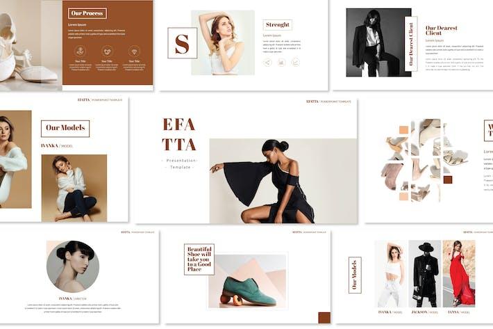 Thumbnail for Efatta - Keynote Templates