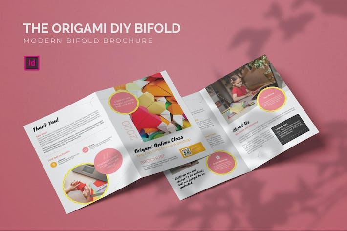 Thumbnail for Origami DIY - Bifold Brochure