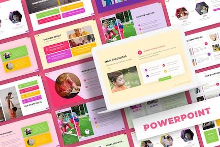 Learn Happy - Powerpoint Template