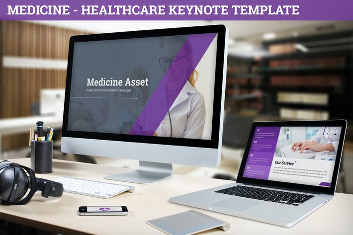 Thumbnail for Medicine - Healthcare Keynote Template