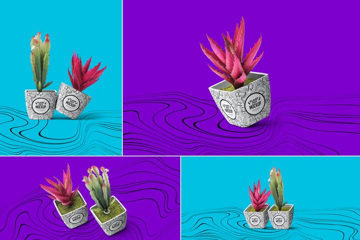 Thumbnail for Plant Pot Mockups