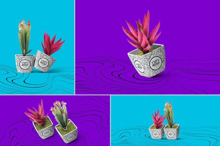 Thumbnail for Plant Pot Mockups