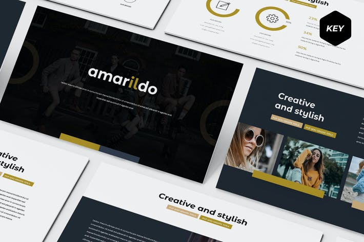 Thumbnail for Amarildo - Keynote Template