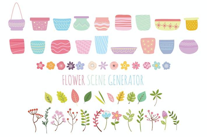 Thumbnail for Blumen- und Pflanzszene