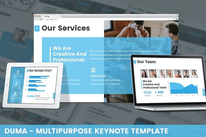 Cover Image For Duma - Multipurpose Google Slides Template
