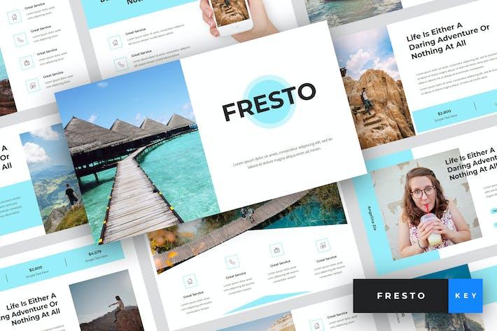 Thumbnail for Fresto - Travel Keynote Template