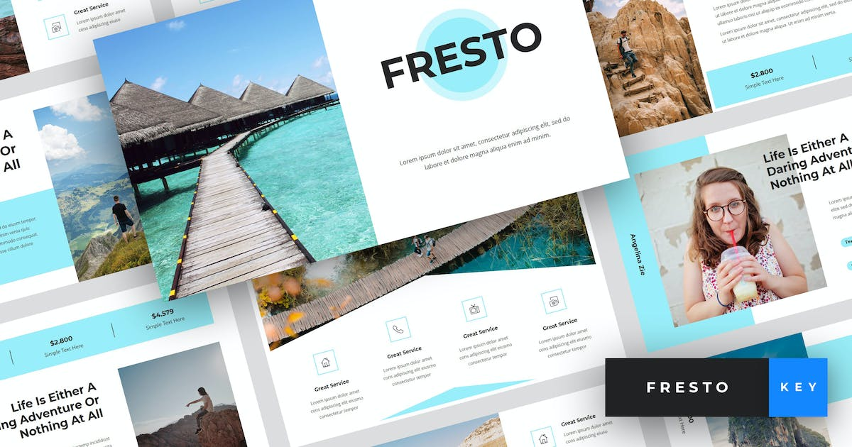 Download Fresto - Travel Keynote Template by StringLabs