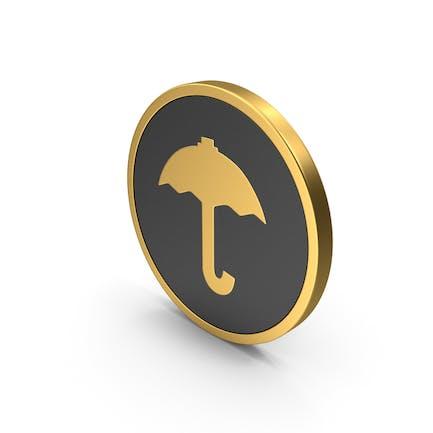 Gold Icon Umbrella