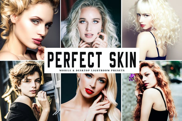 Thumbnail for Perfect Skin Mobile & Desktop Lightroom Presets
