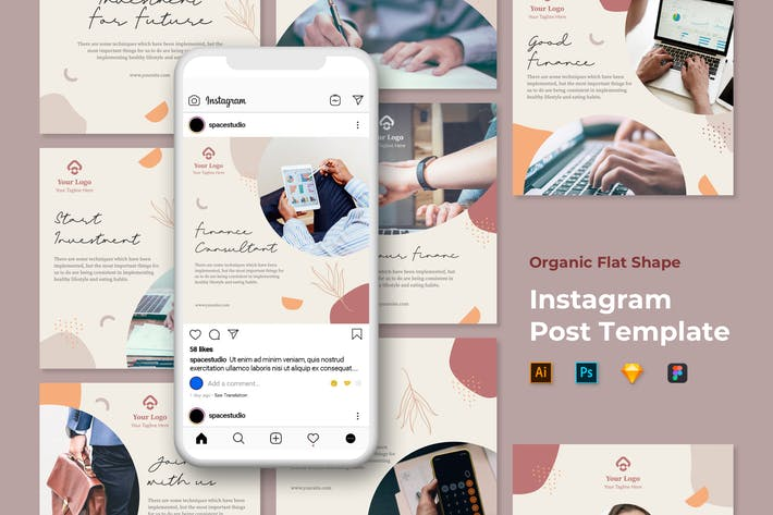 Thumbnail for Instagram Template