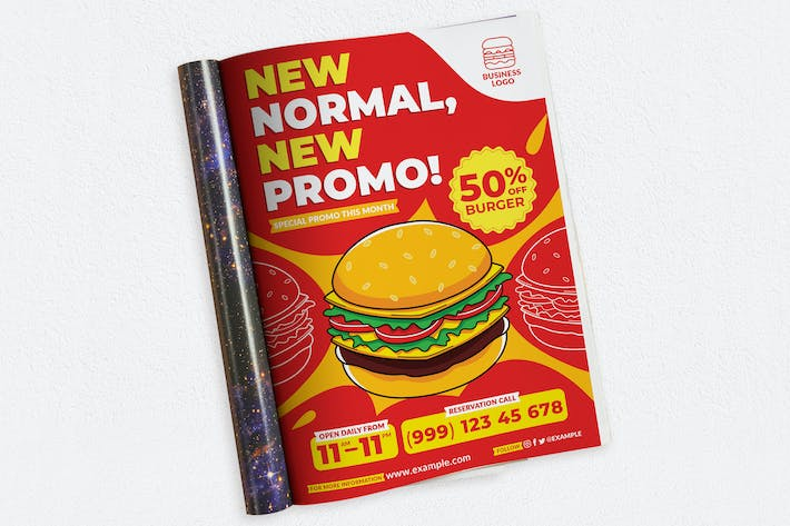 Thumbnail for New Normal, New Promo Ads Magazine