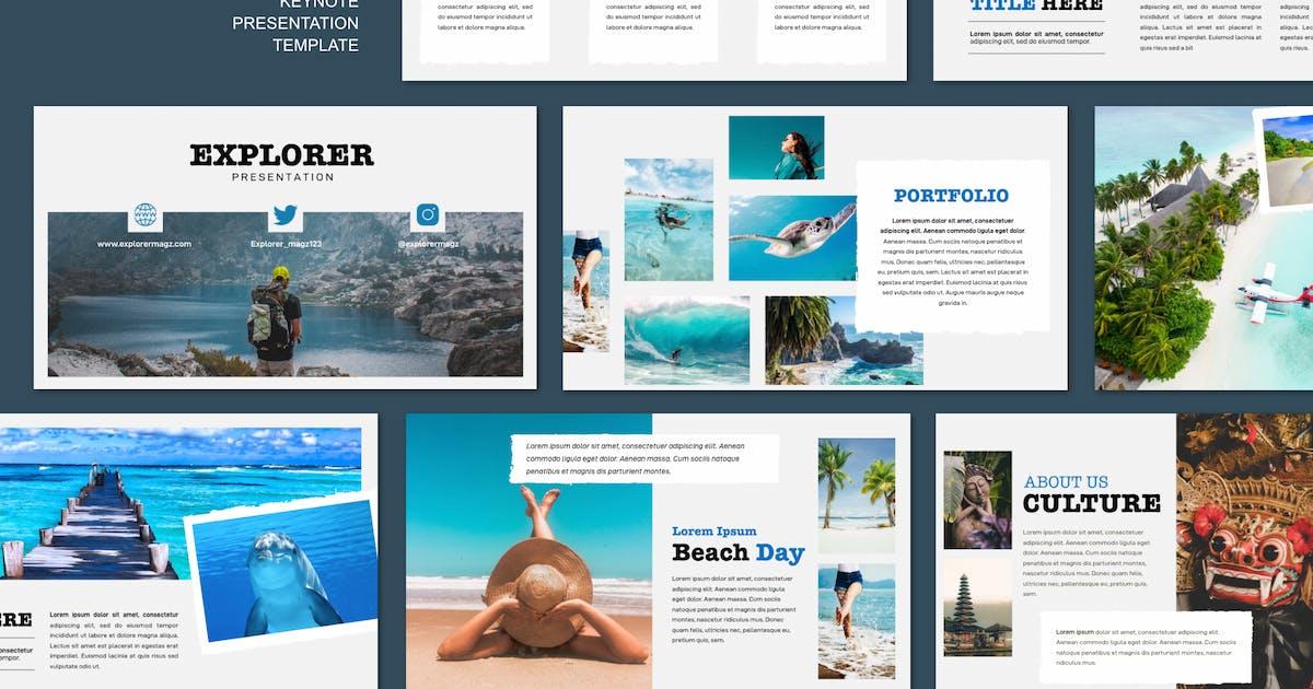 Download Explorer - Travel Tour Keynote by yip87