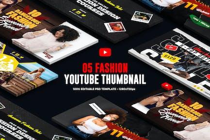 Fashion Youtube Thumbnail