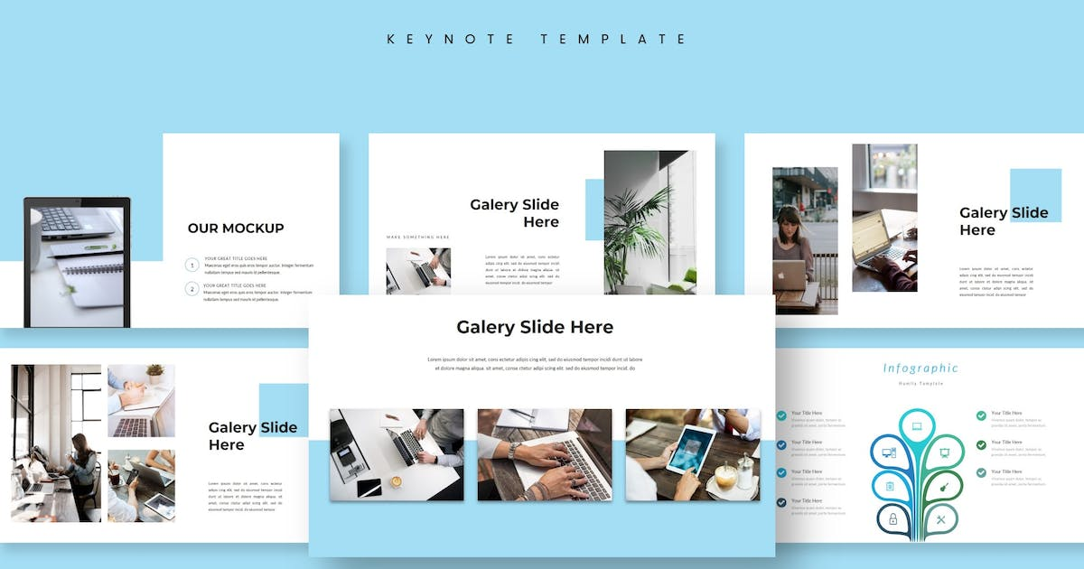 Download Humily - Keynote Template by aqrstudio