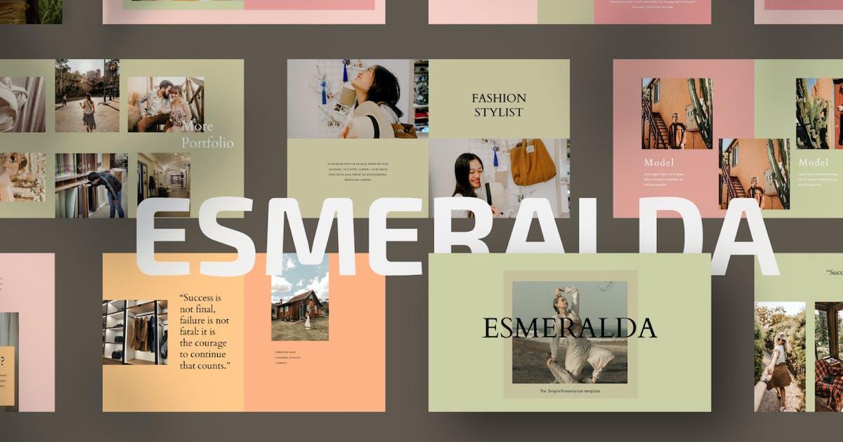 Download Esmeralda Keynote Template by axelartstudio
