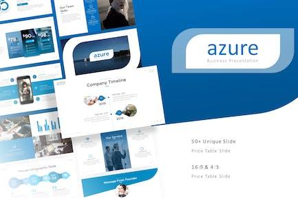 Azure Professional-PräsentationsVorlage
