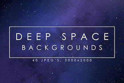 40 Deep Space Hintergründe