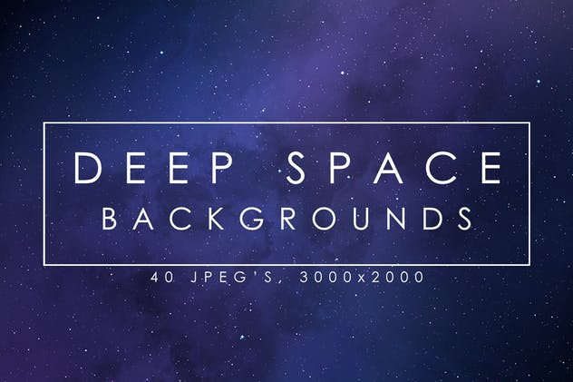 40 Deep Space Backgrounds