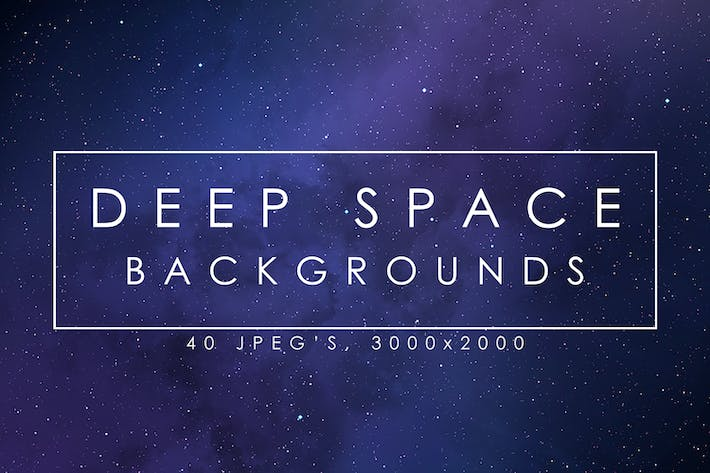 Thumbnail for 40 Deep Space Backgrounds