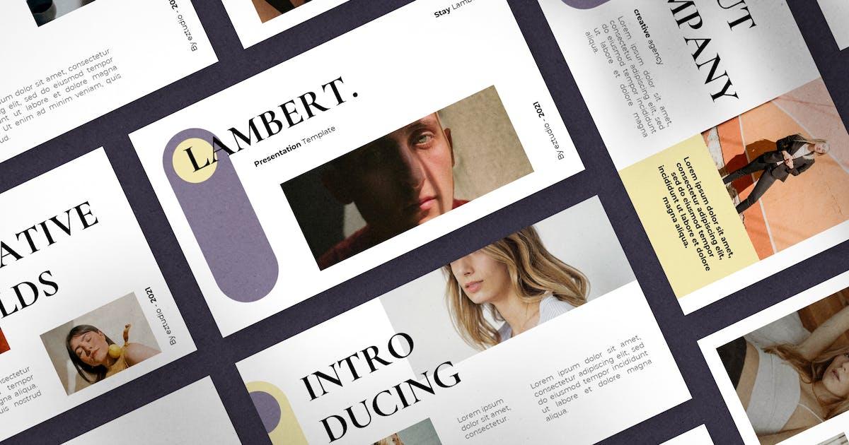 Download Lambert - Powerpoint Template by eztudio