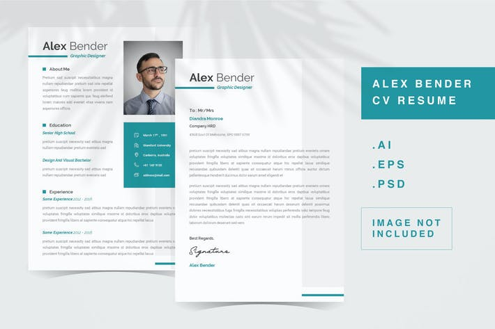 Alex Bender - CV Resume Template