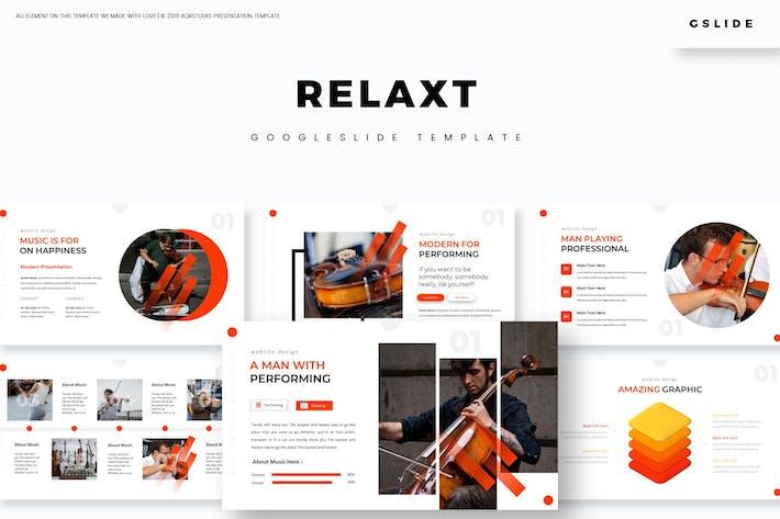 Relax - Google Слайды Шаблон