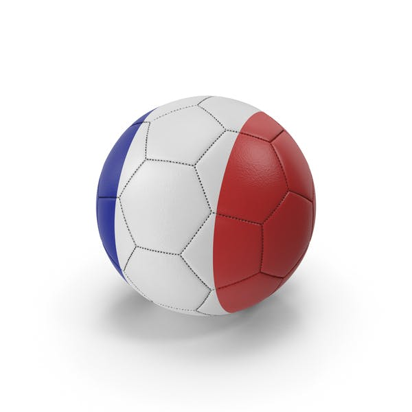 Thumbnail for Soccer Ball French Colors
