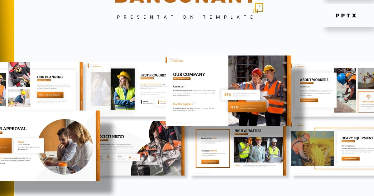 Download Bangunant - Presentation Template by aqrstudio