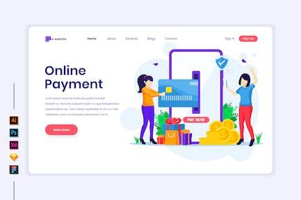 Online Payment Illustration - Agnytemp