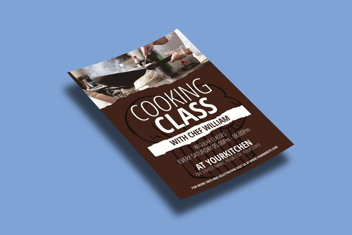 Cooking Class – Flyers Template