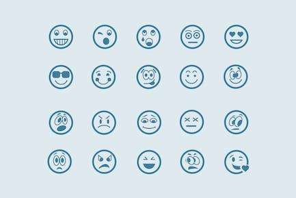 20 Line Emoticons