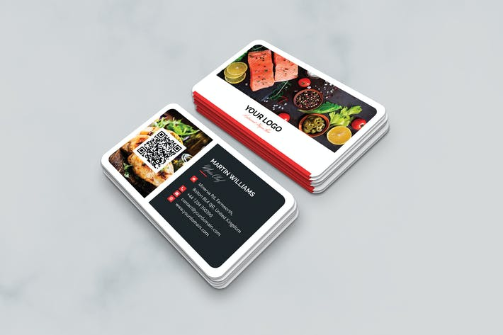 Thumbnail for Business Card – Restaurant